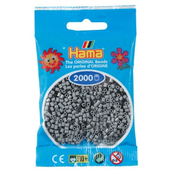 HAMA - Mini - 2,000 bead bag (grey)