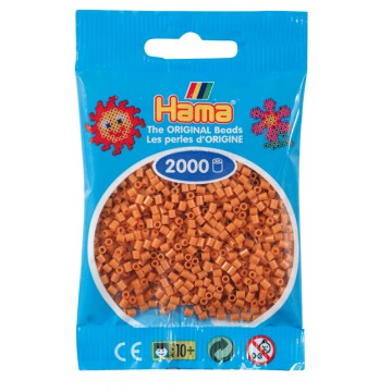 HAMA - Mini - 2,000 bead bag (light brown)