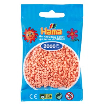 HAMA - Mini - 2,000 bead bag (flesh)