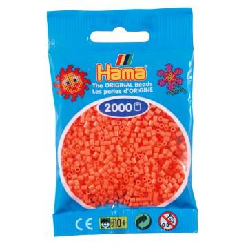 HAMA - Mini - 2,000 bead bag (pastel red)