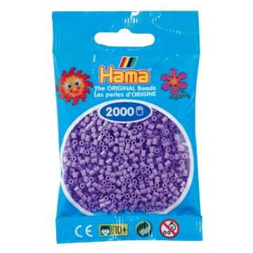 HAMA - Mini - 2,000 bead bag (pastel purple)