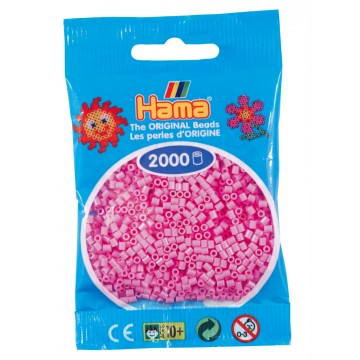 HAMA - Mini - 2,000 bead bag (pastel pink)