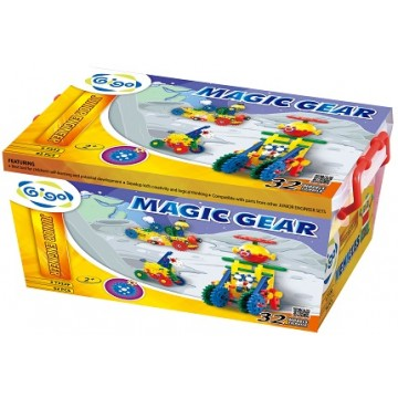 Gigo Junior Engineer - Magic Gears (62 Pieces)