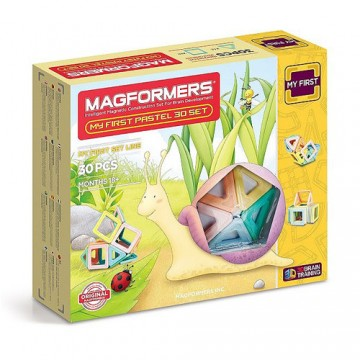 Magformers My First Pastel Set (30 Pieces)