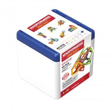 Magformers - Basic 40 Set + Storage Box