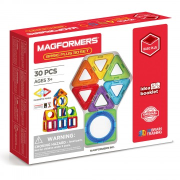Magformers - Basic Plus Set (30 piece)