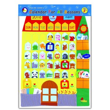 Kingdam Wall Chart - Calendar for All Seasons