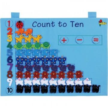 Kingdam Wall Chart - Count to Ten