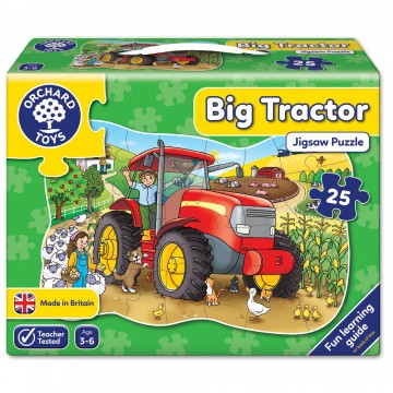 Orchard Toys Floor Puzzle - Big Tractor
