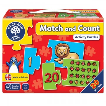 Orchard Toys Activity Jigsaw - Match and Count
