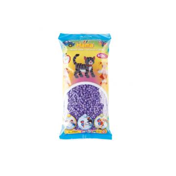HAMA - 6,000 Midi Beads (Pastel Purple)
