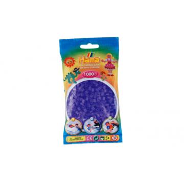 HAMA - 1,000 Midi Beads (translucent lilac)