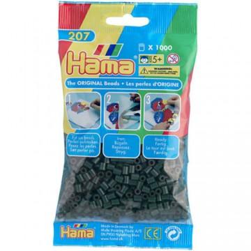 HAMA - Midi - 1,000 bead bag (dark green)