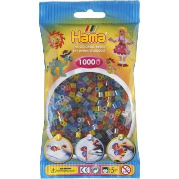 HAMA - Midi - 1,000 bead bag (mixed translucent)