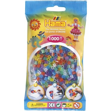 HAMA - Midi - 1,000 bead bag (mixed glitter)