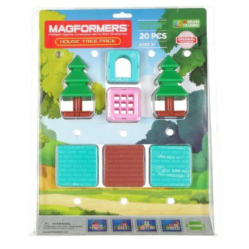 Magformers - House Tree Pack (20 pcs)