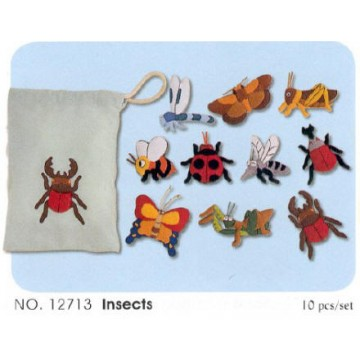 Felt Bags - Insects