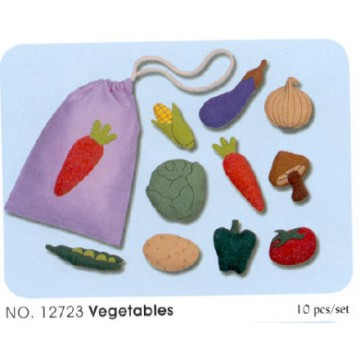 Felt Bags - Vegetables