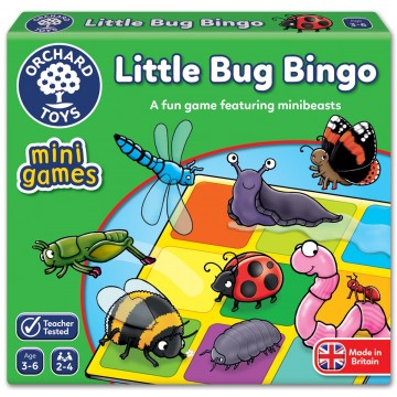 Orchard Toys Mini Games – Little Bug Bingo
