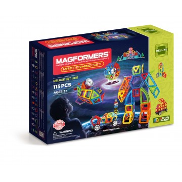 Magformers Mastermind Set (115 Pieces)
