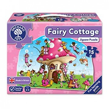 Orchard Toys Floor Puzzle - Fairy Cottage