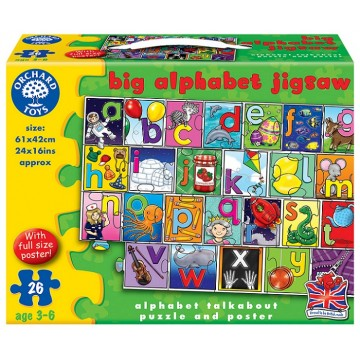 Orchard Toys Floor Puzzle - Big Alphabet Jigsaw