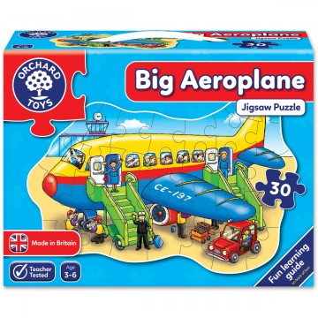 Floor Puzzle - Big Aeroplane