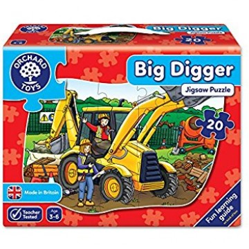 Orchard Toys Floor Puzzle - Big Digger