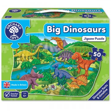 Orchard Toys Challenging Puzzle - Big Dinosaurs