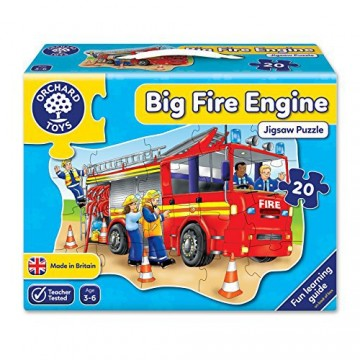 Orchard Toys Floor Puzzle - Big Fire Engine
