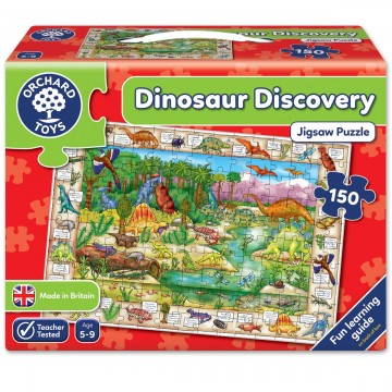 Orchard Toys Challenging Jigsaw - Dinosaur Discovery