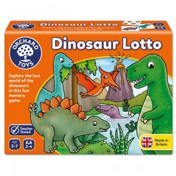 Orchard Toys Game - Dinosaur Lotto