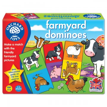 Orchard Toys Game - Farmyard Dominoes