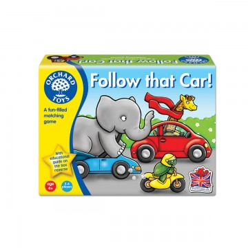Orchard Toys Game - Follow That Car!