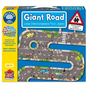 Orchard Toys Giant Road System - Giant Road Jigsaw