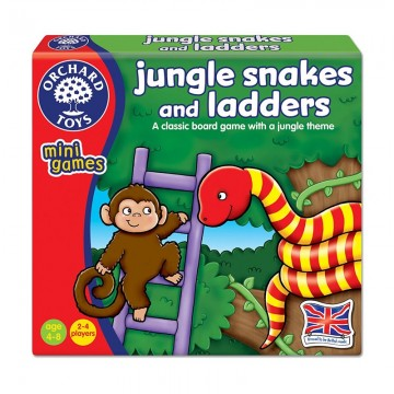 Orchard Toys Mini Games (Counting) - Jungle Snakes and Ladders
