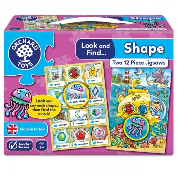 Orchard Toys Look and Find Jigsaw – Shape