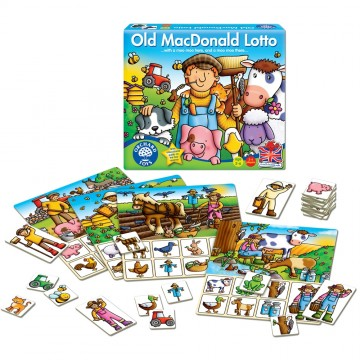 Orchard Toys Game - Old MacDonald Lotto