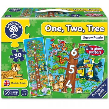 Orchard Toys Floor Puzzle - One, Two, Tree