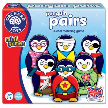 Orchard Toys Mini Games - Penguin Pairs