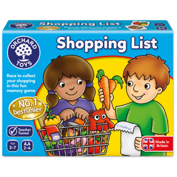 Orchard Toys Game - Shopping List