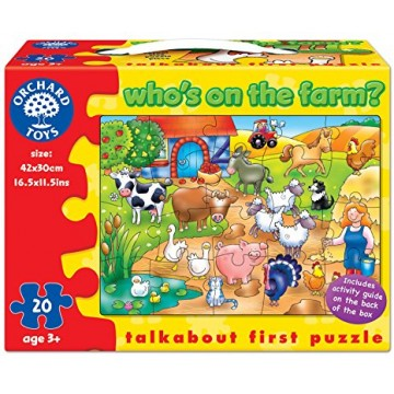 Orchard Toys Early Learning Puzzle - Who's on the Farm?