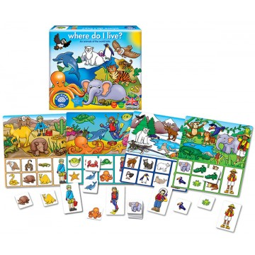 Orchard Toys Game - Where do I Live?