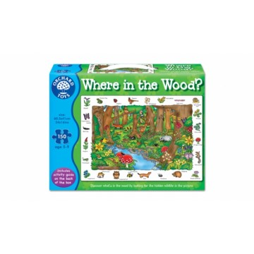 Orchard Toys Challenging Puzzle - Where in the Wood?