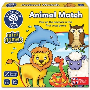 Orchard Toys Game - Animal Match Mini Game