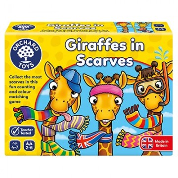 Orchard Toys Games - Giraffes in Scarves