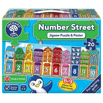 Orchard Jigsaw Puzzles - Number Street