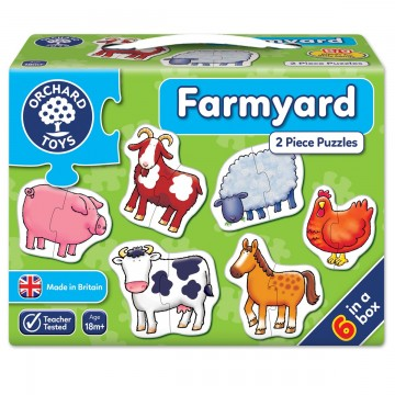 Orchard Toys First Puzzle - Farmyard