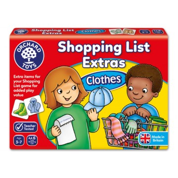 Orchard Toys Game - Shopping List Booster Pack (Clothes)