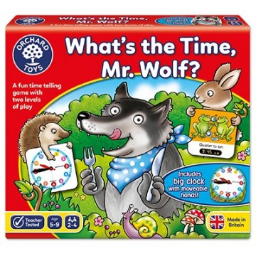 Orchard Toys Game - What's the Time, Mr Wolf?